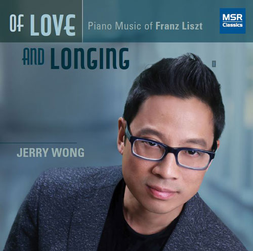 Jerry Wong Of Love and Longing album cover
